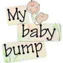 Pregnancy Word Art #1 - 01
