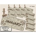 Month Tags