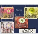 Glass Word Blocks #2