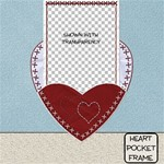 Heart Pocket Frame