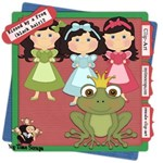 Kissed by a Frog ( black Hair) set 2