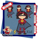 Super Hero Girls (black hair)
