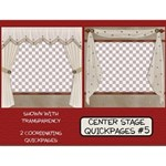 Center Stage Quickpages #5