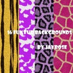 Funky Fur Backgrounds