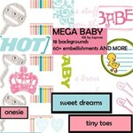 MEGA baby kit w/ words & sayings
