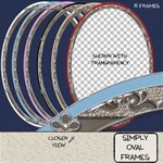 Simply Oval Frames