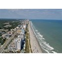 Myrtle Beach Coastline - Aerial View-1