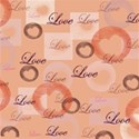 love paper2184 8x8 pink