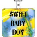 Assorted Baby Boy Word Art - 10