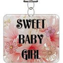 Assorted Baby Girl Word Art - 10