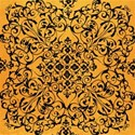 glam ghouls_orange  flourish paper