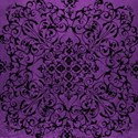 Glam Ghouls_purple & black  flourish paper