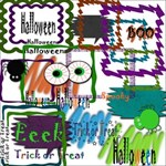 Halloween Frames and Fun Pack