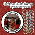Christmas Quote Frames