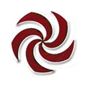 spiral brown dbl red