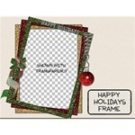 Happy Holidays Frame