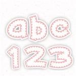 Pink Line Alphabets