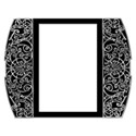 large scroll frame vertical black