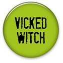 Vicked Witch Button