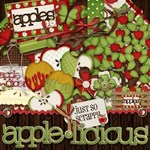 Applelicious Digital Scrapbook Kit