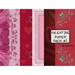 Valentine Paper Pack #1