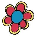 doodle flower 5