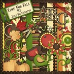 Time For Fall Digital Scrapbook Kit