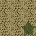 Tan Cammo star paper