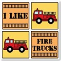 firetruck background