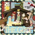 The Gift Nativity Christmas Kit