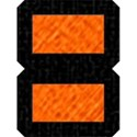 Orange on Black Equal Sign