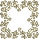 gold art deco border