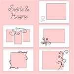 7x5  Swirls & Hearts Quick Album - 20+ pages