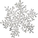 Snowflake with Shadow