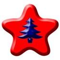 blue tree star