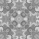 grey damask emb