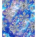 snowflakes-fantasy-blue-seamless