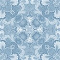china blue damask emb