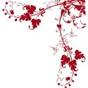 red glitter swirl 2
