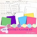 2011 monthly planner_kit cover