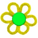 cloth-flower-yellow