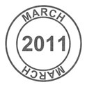 2011 Date Stamps - 03