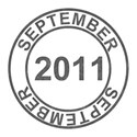 2011 Date Stamps -  - 09