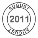 2011 Date Stamps - 08