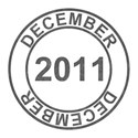 2011 Date Stamps - 12