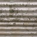 corrugated rust iron