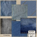 Denim Paper Set