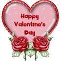 happy valentine day roses