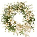 Sweet Sister_flower wreath bow