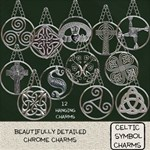 Celtic Symbol Charms